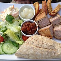 Pork pie platter (easy for you to say!)