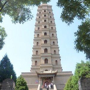 Templo Haibao, Pagoda norte