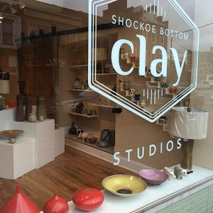 This is a working gallery with 8 ceramic studios and 30 artists featured in the gallery.