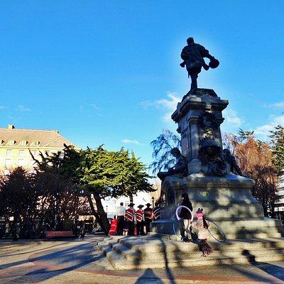 Corazón de la ciudad de Punta Arenas, escenario del Carnaval de Invierno y de los tradicionales