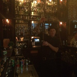 Brian the bartender. Amazing drinks.