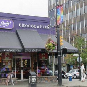 Purdy's Chocolatier, Vancouver, BC