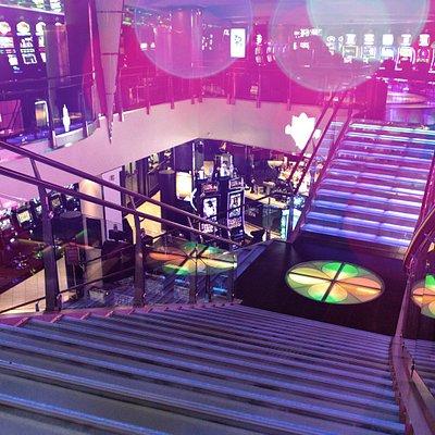 Casino Helsinki stairs
