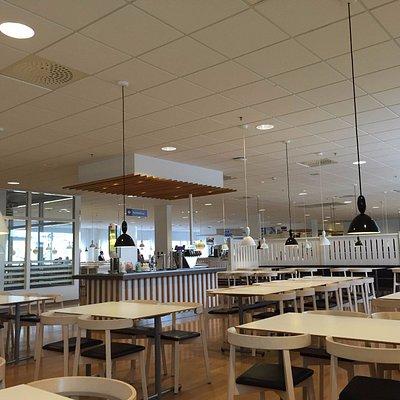 Restaurangen en vardag i september.