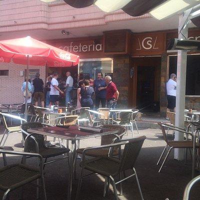 Bar cafeteria crisa