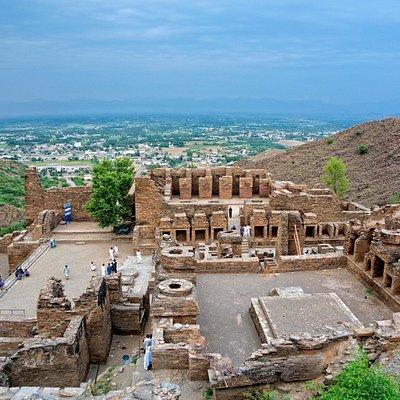 View of Takht i Bhai.