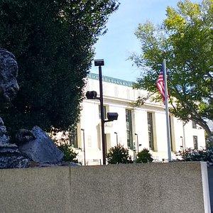 NAS Building and Albert Einstein Memorial