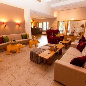 Lobby at the Hotel Baren