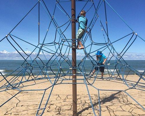 Playground at Lions Beach Park.