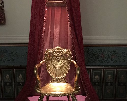 19th Century Gilded Rocking Chair