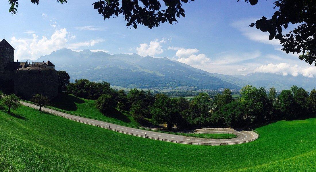 Uma paisagem estonteante