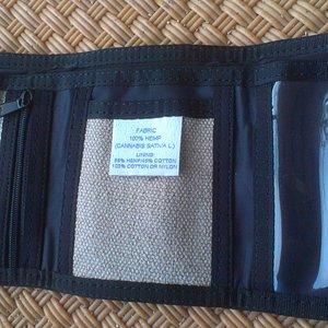 HempStar wallet (hemp/cotton) - $29