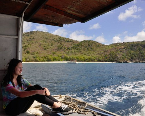 On Lady J/J after leaving Carriacou