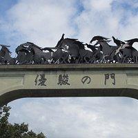Museum gates!