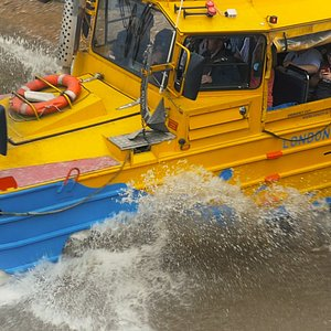 Splashdown!  London Duck Tours style
