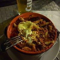 Tarta al Forno at Piatra Alba Restaurant