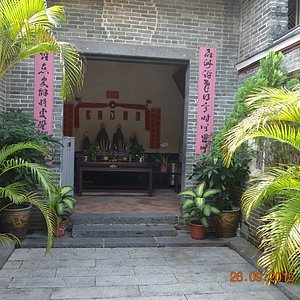 Temple inside the Hall