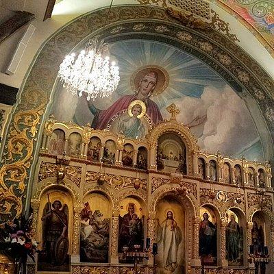 Beautiful altar.