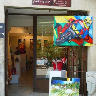 Entrée de la Galerie des Artistes