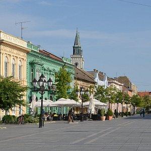 Main Street(Glavnjak), Sombor, Serbia