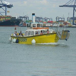 Foot Ferry from Harwich to Felixstowe