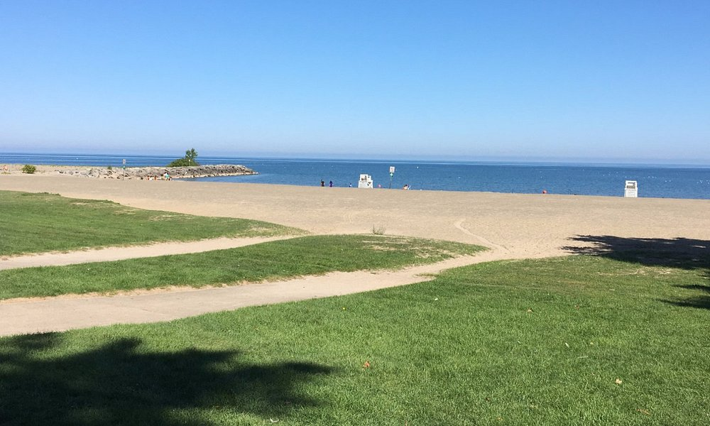 Hamlin Beach State Park - another view of grassy areas