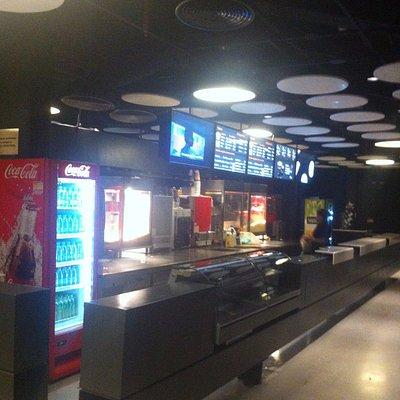 café do cinema