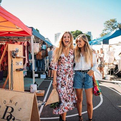 Shop 100+ boutique market stalls
