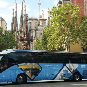 Daily Tours bus
