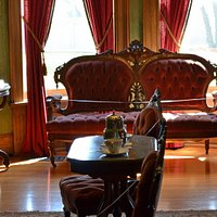 Parlor of Seiberling Mansion
