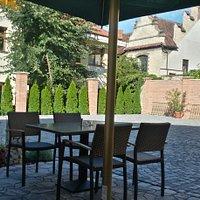 Zahrádka restaurace Alegro