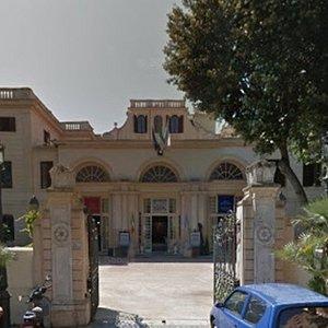 Ingresso del Museo nella seicentesca Villa Adele.