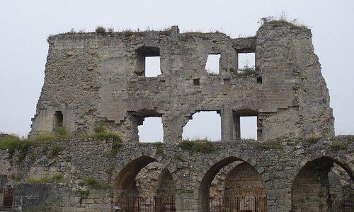 Ruines du logis seigneurial