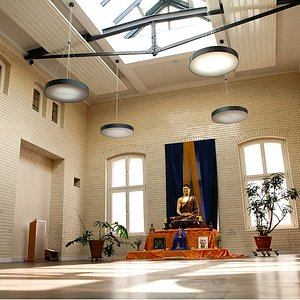 Yoga and Meditation Space