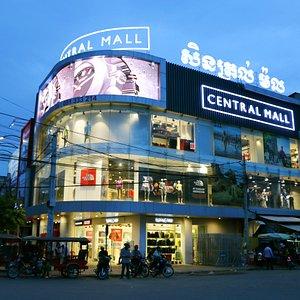 Central Mall next to Central Market Phnom Penh