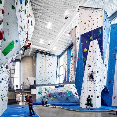 Allez Up indoor climbing - a gym designed for all climbers.