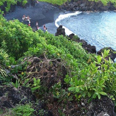 Black Sand Beach-Hana