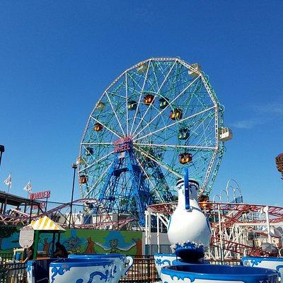 Wonder Wheel and Luna Park