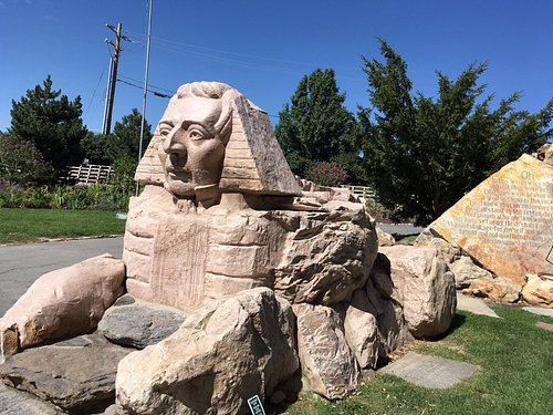 Gilgal Gardens sphinx