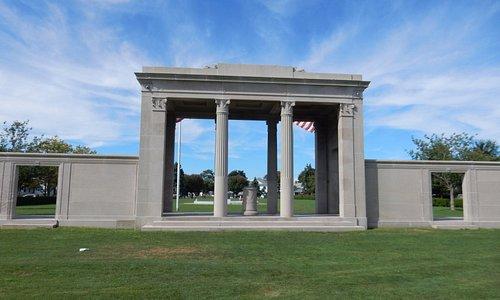 THE MEMORIAL AT AGAWAM PARK.