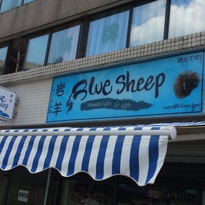 Blue Sheep Crafts and Coffee Shop - a MUST see