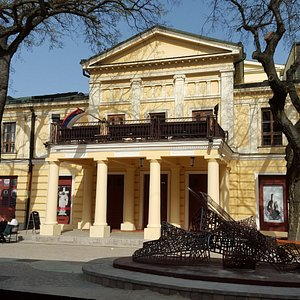 Sombor Theatre Building, Sombor, Serbia