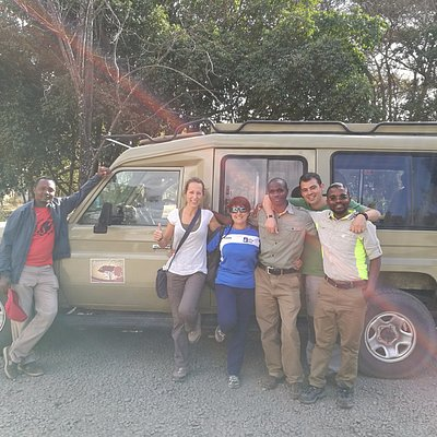 Con AMIGO SAFARIS. Grandes profesionales y aun mejores personas!