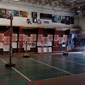 World's Largest Professional Indoor Throwing Range