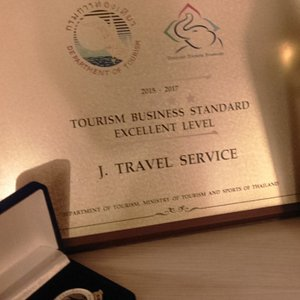Certified by Depertment of Tourism