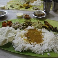 South Indian Meals at its best all for less than 100 INR