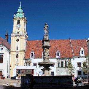 Pressburg: Altes Rathaus am Hauptplatz (Stará radnica)