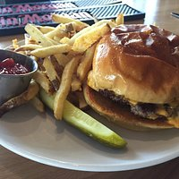 The Ron Swanson with Cheese - the best burger of Le Burger Week 2016, if you ask me.