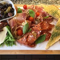Large antipasti board