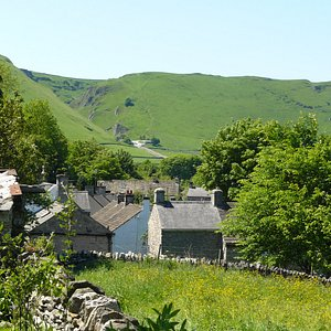 Mam Tor view from Castleton